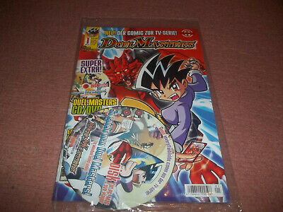 Duelmasters***Comic***Heft***Nr.1 Vom November 2004 + Cd/Dvd***!!!***