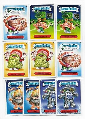 2020 Topps GPK Garbage Pail Kids Late To School Mascots Insert Set   10 Cards
