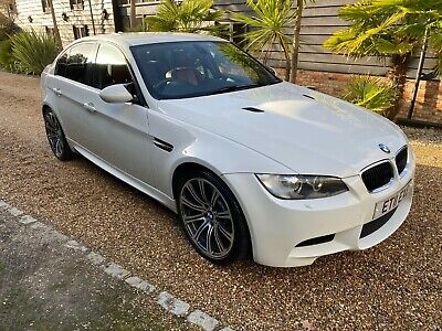2011 Bmw M3 4.0 Dct Saloon  White/Red Leather 59K Mls Fbmwsh Great Spec V Nice