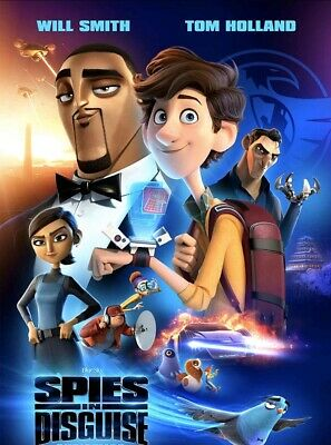 Spies In Disguise DVD Only 2020 No Case