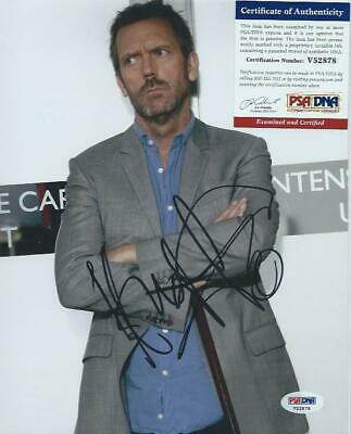 HUGH LAURIE Signed Photo HOUSE MD  PSA / DNA Certified