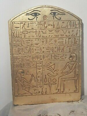 Rare Antique Ancient Egyptian maguc stela Book of Dead Hiroglyphic 1620-1540BC