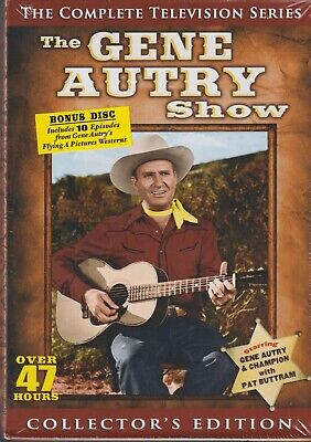 The Gene Autry Show: The Complete Series (DVD, 2013, 15-Disc Set)