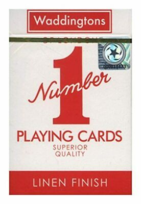 """Waddingtons """"Number 1"""" Playing Cards Original Card game Toy (Colours may vary)"""