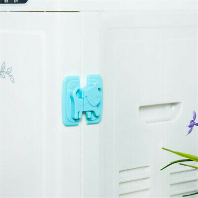 Baby Kids Safety Latch Lock Appliance Adjustable Fridge Guard Refrigerator Door