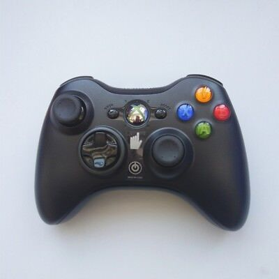Microsoft Xbox 360 Wireless Controller Remote (BLACK) Fast Shipping- Brand NEW!