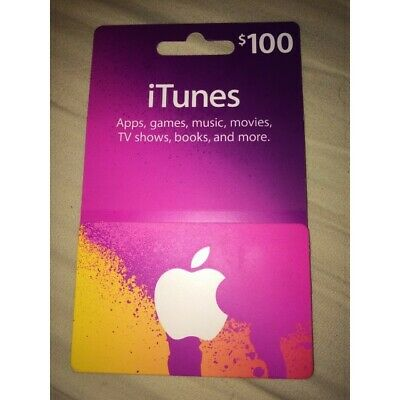 iTunes Gift Card $100 US Apple | App Store Key Code | American USA|FAST SHIPPING