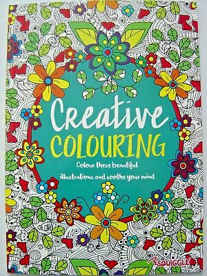 Relax with Colour Therapy Adult Colouring Books creative  love