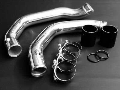 EXH Aluminium CHarge Pipe Set 2014+ BMW M3 / M4 F80 F82 S55 Silber