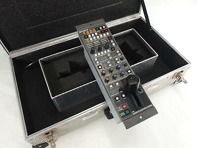 Sony RCP-720 Camera Remote Control Panel - With Flight Case