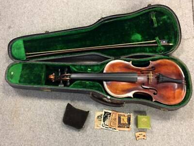 Antique Violin Jacobus Stainer in Absam Prope Oenipontum 1672 w/Bow & Case, NR