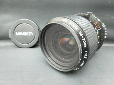 Used minolta lens MD ZOOM 35-70mm 1: 3.5 Φ55mmLimited Good condition Genuine