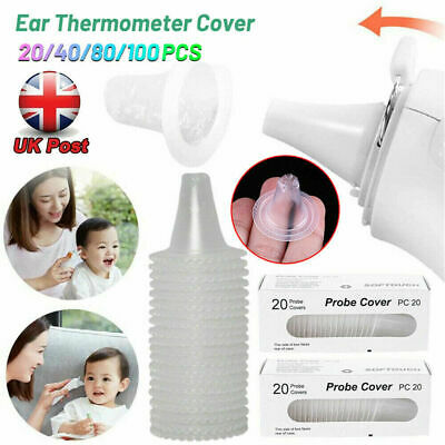 Popular For Braun Thermoscan Ear Thermometer Lens Filters Probe Caps Covers Set