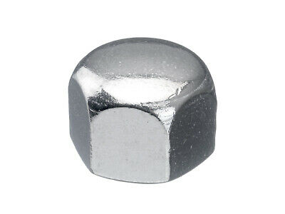 100x Hexagon cap nut, low type DIN 917 Stainless steel A4 50 M5