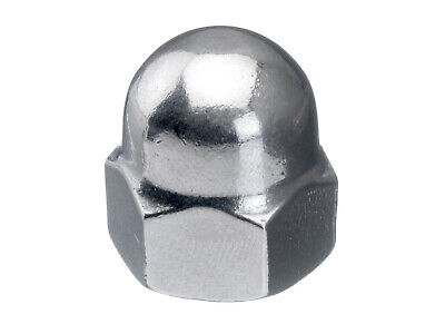 200x Hexagon domed cap nut, high type DIN 1587 Stainless steel A1 50 M7 (≠DIN)