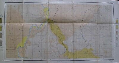 Folded Color Soil Survey Map Salem Oregon Independence Turner Switzerland 1903