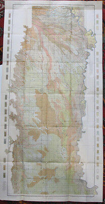 Folded Color Soil Survey Map Colusa California Willow Orland Hamilton City 1907