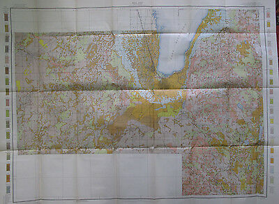 Color Soil Survey Map Fond Du Lac County Wisconsin Ripon Brandon Waupun 1911