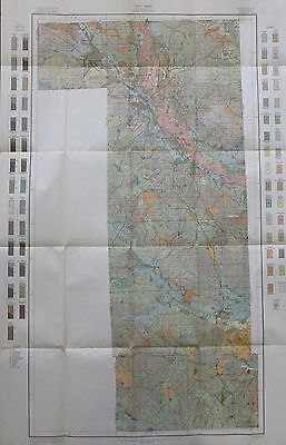 Color Soil Survey Map Forrest County Mississippi Hattiesburg Brooklyn Maxie 1911