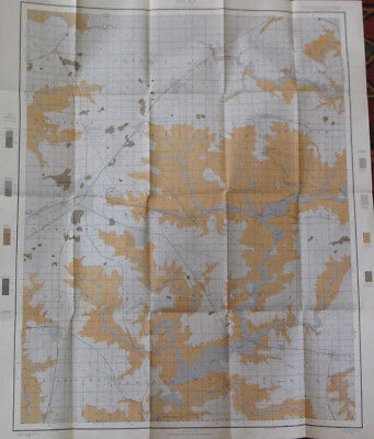 Color Soil Survey Map Knox County Illinois Galesburg Abingdon Yates City IL 1903