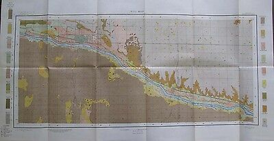 Folded Color Soil Survey Map Garden City Kansas Pierceville Sherlock 1904