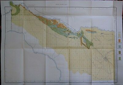 Folded Color Soil Survey Map Caldwell Idaho Nampa Roswell Boise River 1901