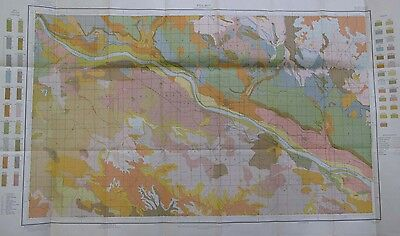 Color Soil Survey Map Scotts Bluff Nebraska Gearing Mitchell Minatare 1913