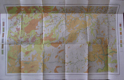 Color Soil Survey Map Asheville North Carolina Clyde Weaverville Canton NC 1903