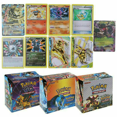 324pcs Cards Pokemon TCG Booster English Edition Break Point 36Packs Hot