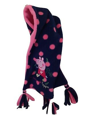 marks and Spencer Baby Girls Peppa Pig Fleece Scarf 18 Months