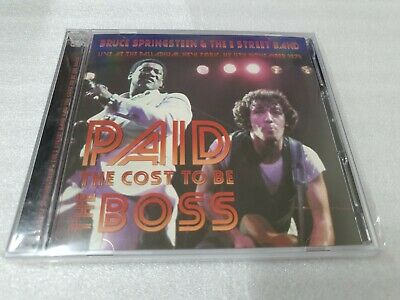 Bruce Springsteen & The E Street Band / Paid The Cost To Be The Boss 2Cd Set