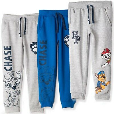 boys Nickelodeon Paw Patrol Joggers Trousers SweatPants Sport Bottoms 4-6 Years