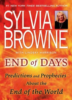 📛End Of Days By Sylvia Browne📛Astonishing Psychic Predictions📛PdfKindleEbook