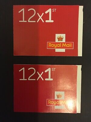first class stamps 24 only £14.99 2 booklets Brand new