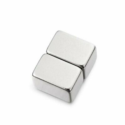 2Pcs15 x 10 x 10mm N42 Powerful Creative NdFeB Cube Magnetic Toys For Kid Adult