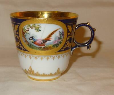 19th Century SEVRES French Porcelain Cup - Dated 1881 & 1883
