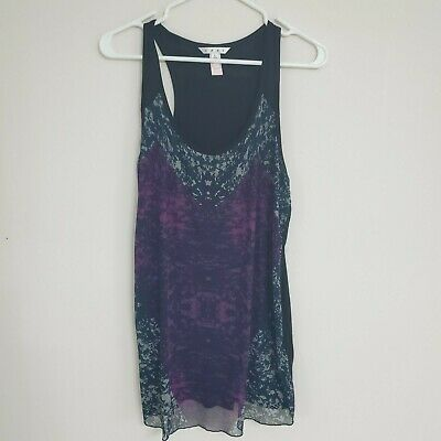 CAbi #559 Heart of Love Tank Top Womens Size Large