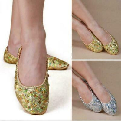 Professional .Belly Dance SHOES  LEATHER Sole  BALLERINA
