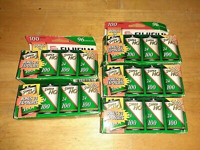 20 Rolls Fujifilm Super HQ Film 100 Speed Expired 2000