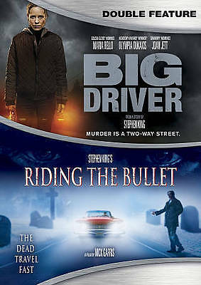 Big Driver/ Stephen King's Riding The Bullet - Double Feature [DVD], New DVDs