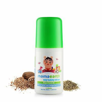 Mamaearth Easy Tummy Roll On for Indigestion and Colic Relief - Hing and Fennel