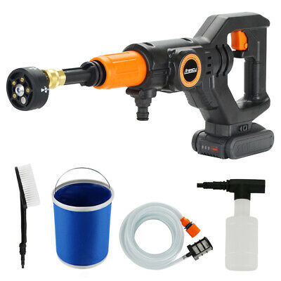 Cordless Pressure Washer Power Cleaner 320PSI w/ 2.0A Battery & Charger Portable