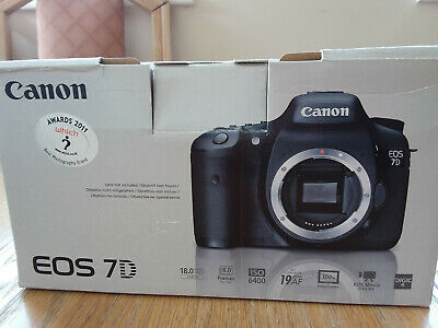 Canon EOS 7D mk1 camera BODY ONLY, boxed,  excellant  condition
