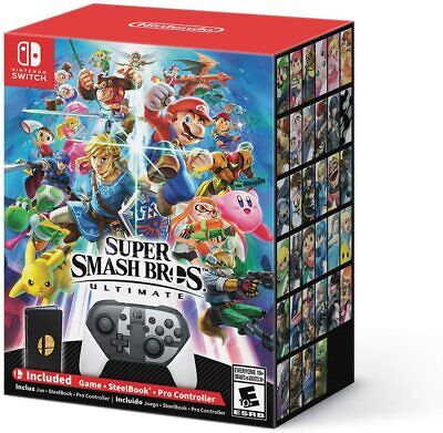 Super Smash Bros. Ultimate Special Edition (Nintendo Switch Game) Brand New NTSC