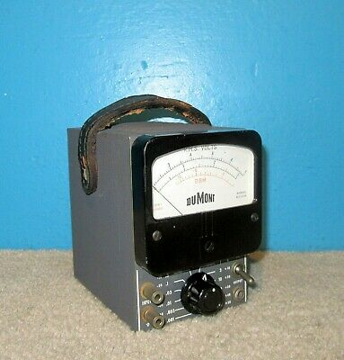 Dumont Type 346 VTVM Voltmeter Nice Condition Free Shipping