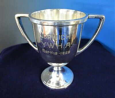 Antique Rogers Silverplate Trophy or Loving Cup Norwich YWHA 1926