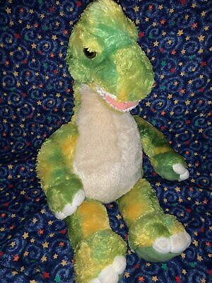 "BABW / Build a Bear Workshop Brachiosaurus Green Dinosaur 20"" Plush Stuffed Toy"