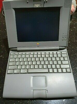 Rare retro apple powerbook 520 no charger untested