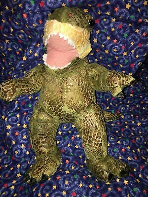"BABW / Build a Bear Workshop 18"" Dinosaur TYRANNOSAURUS T- REX Plush Toy"