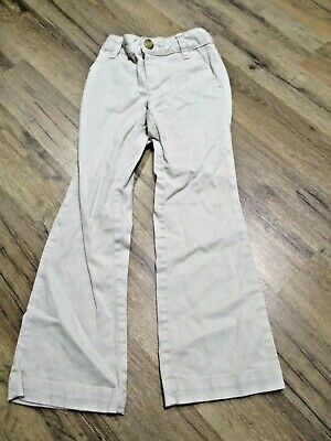 Old Navy Girls size 5 Khaki Belt Loops Pants Uniform Pants